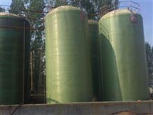 潍坊处理二手55立方卧式玻璃钢罐几台