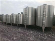 874高价回收二手15吨不锈钢立式储罐市场行情