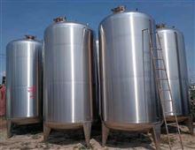874高价回收二手15吨不锈钢卧式储存罐市场行情