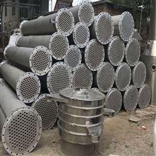 低价出售二手75平方列管式冷凝器西安