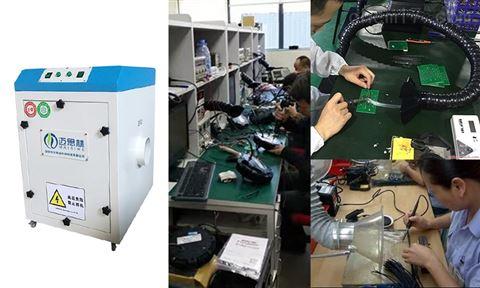 可以吸除激光烟尘烟味烟雾臭味的机器设备