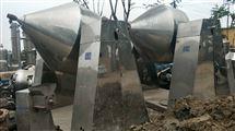 二手搪瓷双锥干燥机回收二手化工设备