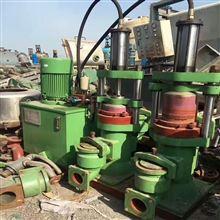 出售二手400型双杠油压柱塞泥浆泵8成新