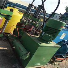 濰坊出售二手140型雙杠油壓柱塞泥漿泵8成新
