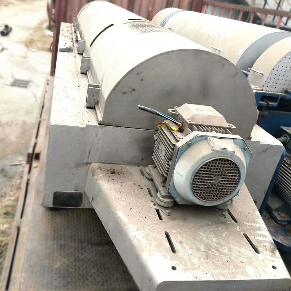 大理八成新LW480型二手卧螺离心机卖废铁