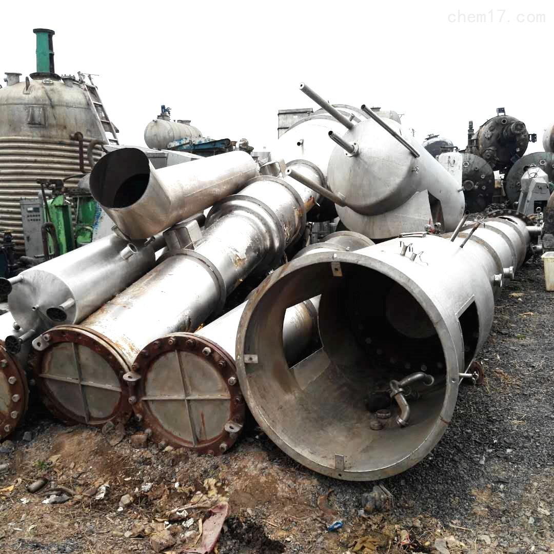 6000千克6000升6吨二手三效降膜蒸发器