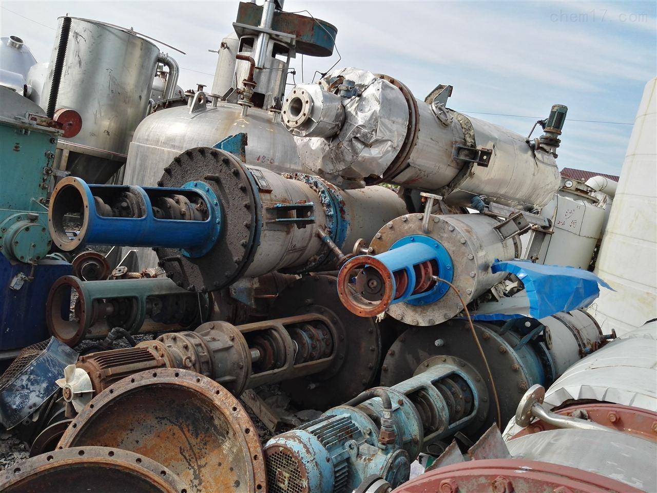 浙江工厂16平方二手旋转式薄膜蒸发器转让