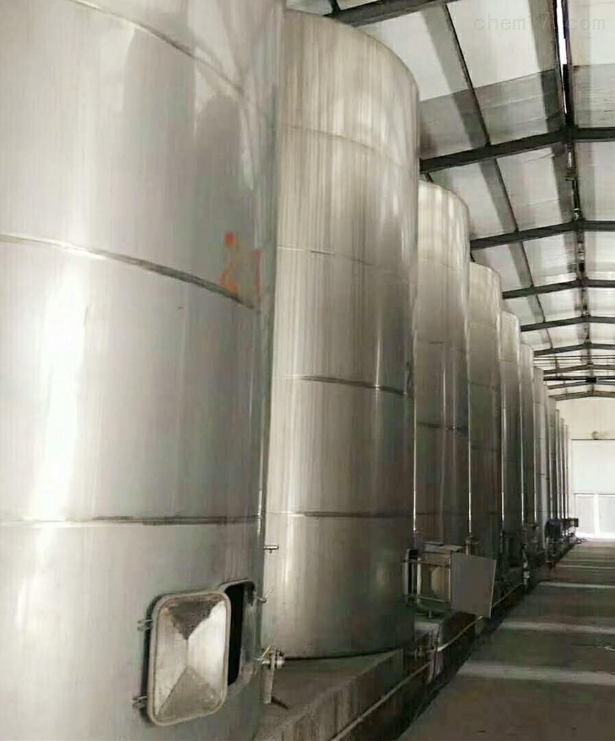 赣州酒厂紧急转让150立方二手不锈钢储罐