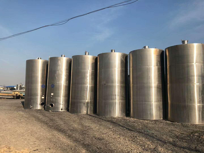 食品厂8吨8000升二手立式304不锈钢储罐