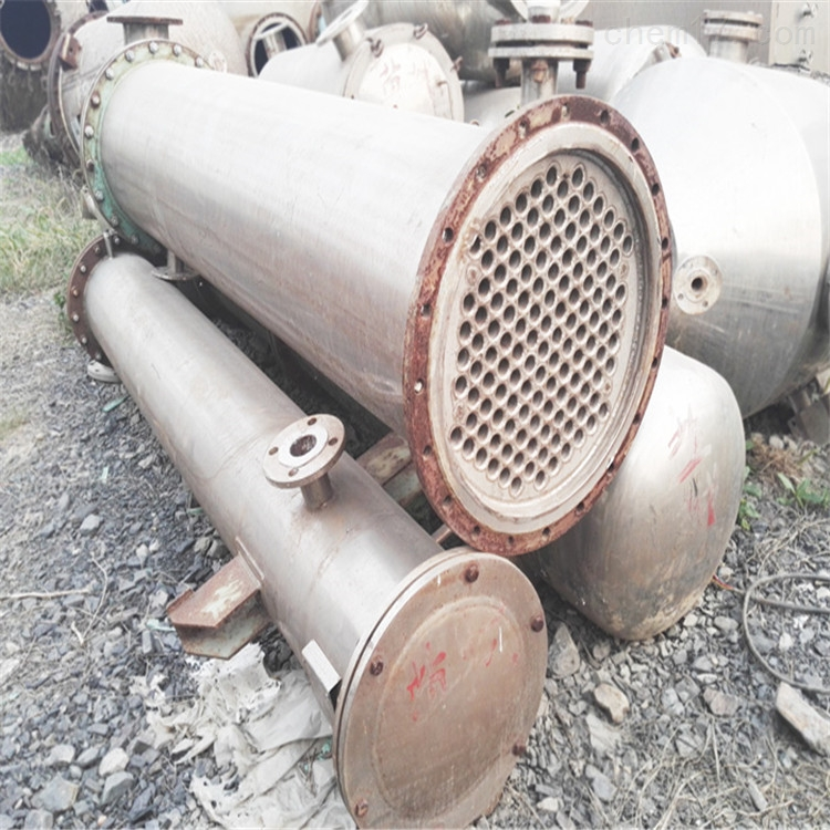 内蒙八成新50平方二手高压列管冷凝器
