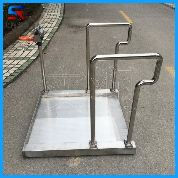 304不锈钢防水防腐蚀电子轮椅秤