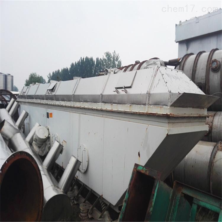 废铁价出售九成新9乘1.3米二手流化床干燥机