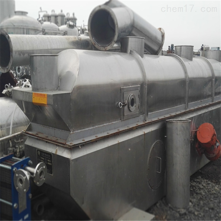 废铁价转让九成新6乘0.9米二手流化床干燥机