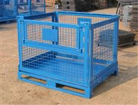 不生锈仓储笼洛阳不生锈仓储笼,带脚轮仓储铁笼