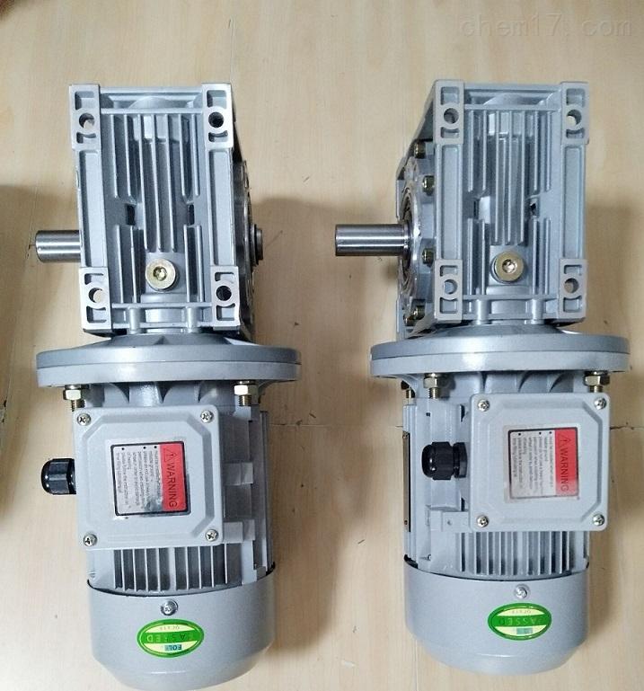 污水环保机械用单轴输出RV075蜗轮减速电机