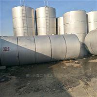 闲置出售二手10吨不锈钢储罐价格