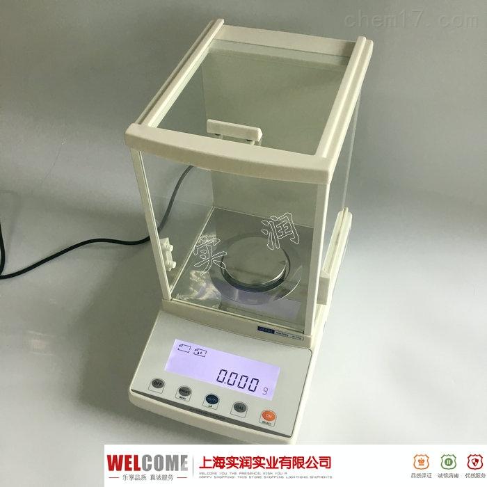 型号FA1004 上海产精度0.1mg电子天平