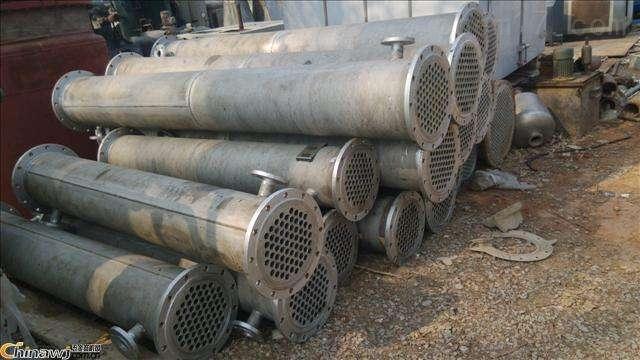 长期回收120平方不锈钢列管冷凝器