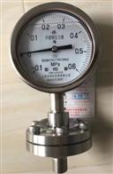 Y-150BF/Z/ML不锈钢隔膜压力表Y-150BF上海仪表四厂