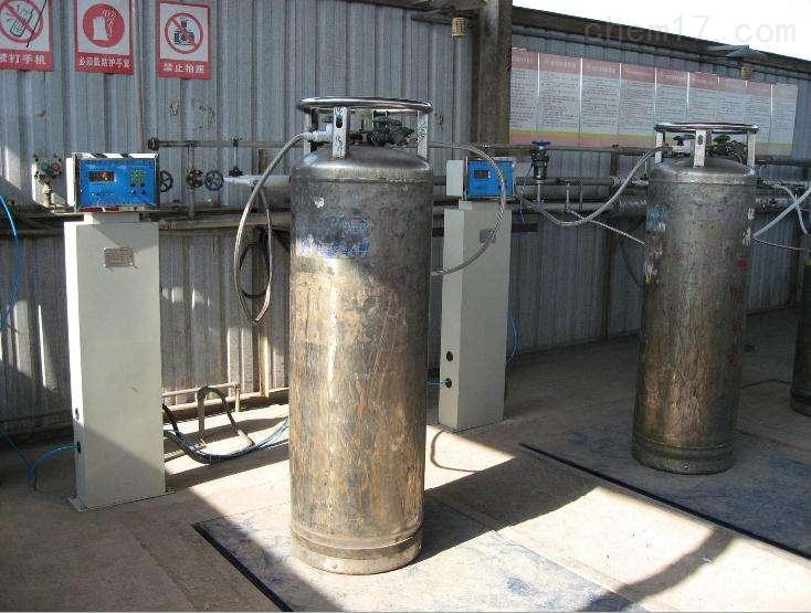 天然器电子灌装称-定量气体充装秤图片