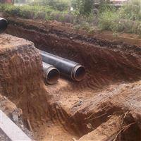 DN600直埋式保溫管城市集中供熱管網分析
