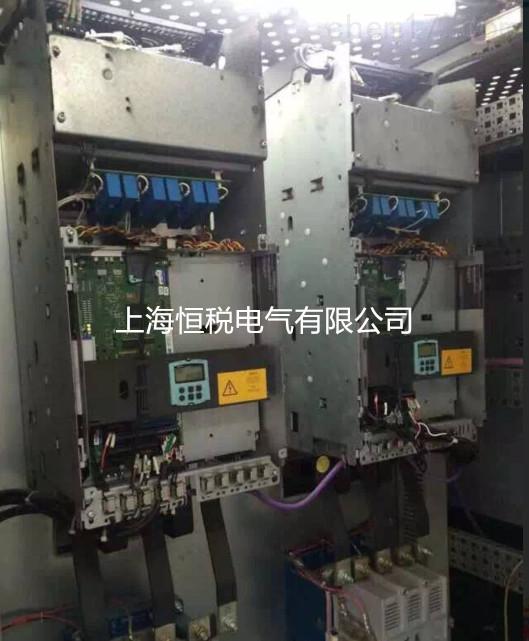 西门子6RA80面板白屏不亮-修复装置问题所在