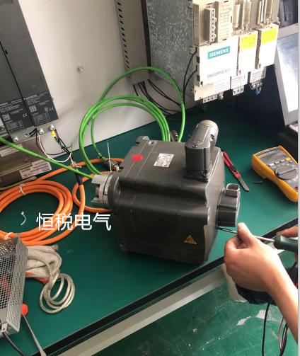 西门子802DSL系统轴电机编码器坏
