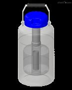 便攜式儲存系列液氮罐