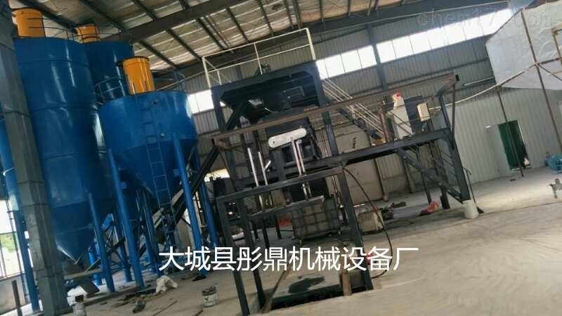水泥基匀质板生产设备模压成型切割自动化
