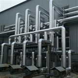 承揽换热站保温工程. 不锈钢铁皮保温安装