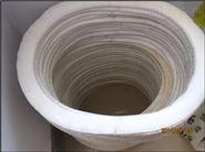 400*500*15人孔垫反应釜人孔垫四氟人孔垫