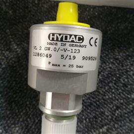 ETS326-3-100-000hydac压力传感器EDS344-3-040-000准确性