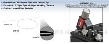 Thorlabs多模光纖微透鏡