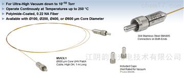 Thorlabs多模光纖跳線,兼容超高真空和高溫
