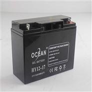 OCEAN HY12-17 12V,17AH/20HR(25°C)蓄電池