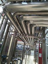 管道镀锌板保温施工、管道硅酸铝保温厂家