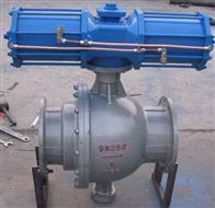 Q647MF气动卸灰球阀厂家