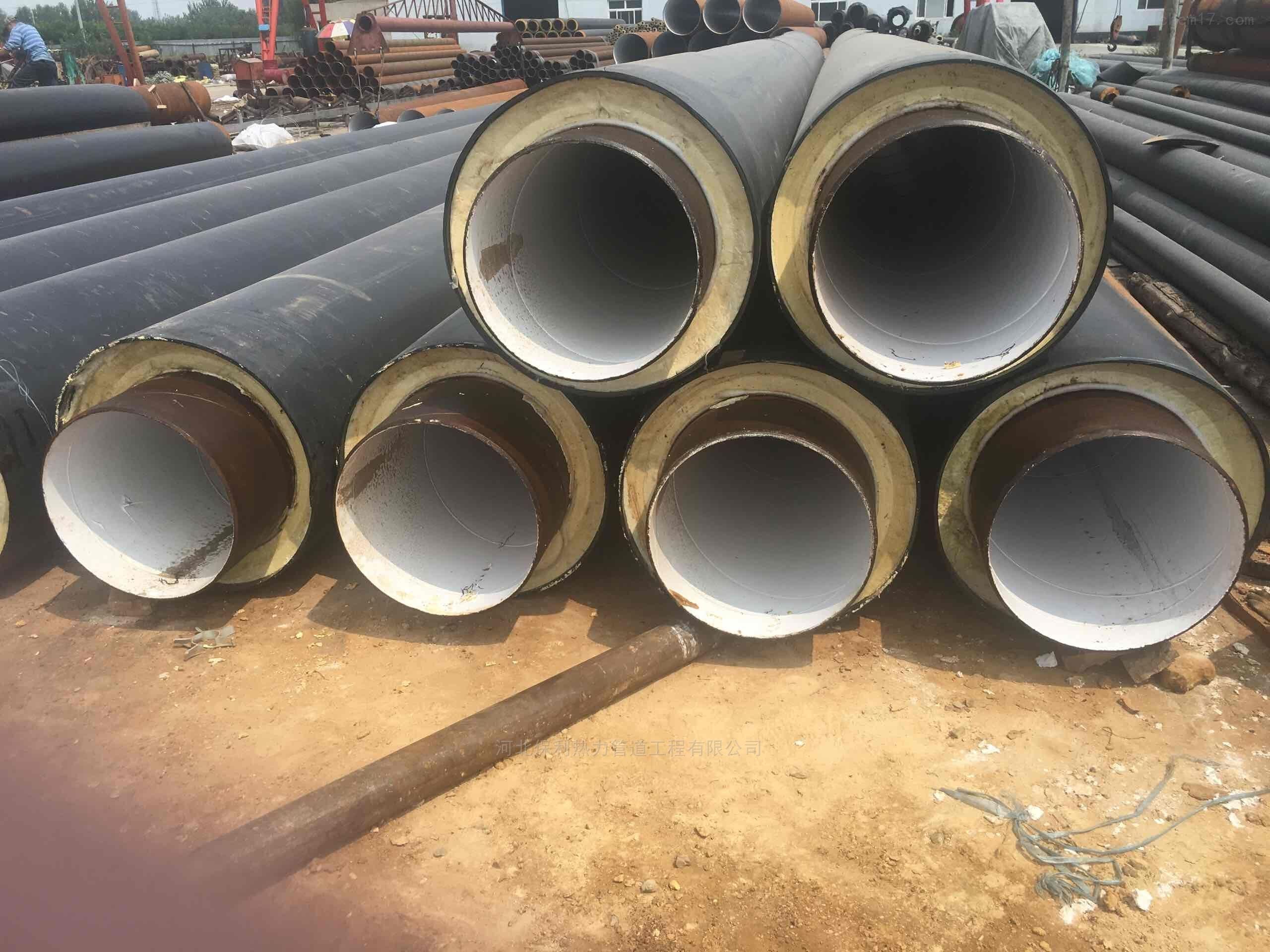 聚氨酯管道保温管施工,直埋预制管出厂价格
