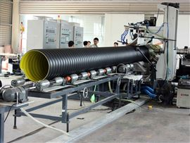 DN800排污钢带管 钢带波纹管