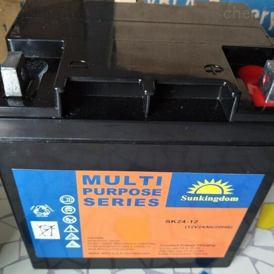阳光金顿蓄电池SK24-12区域销售