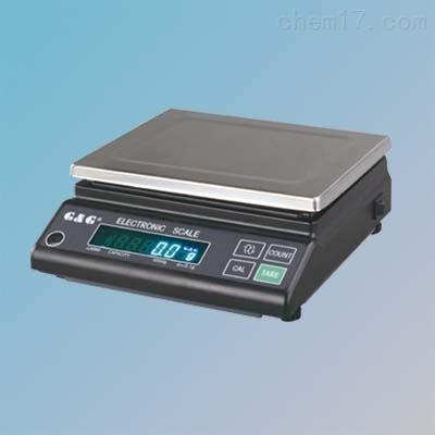 双杰JJ6000电子天平6000g/0.1g交直流两用