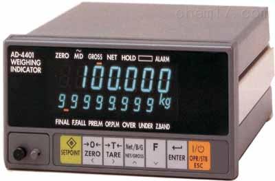 日本AND控制器AD-4401配料灌装称重显示器