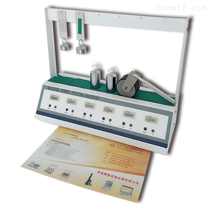六工位膠帶測試器