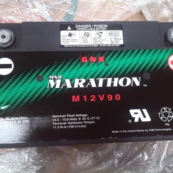 GNB蓄电池M12V90原装报价