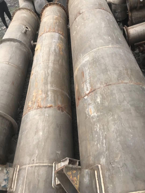 3吨二手双效钛材质蒸发器工厂白菜价处理