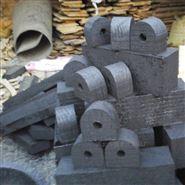 管道木管托 固定木托和 管道的安装垫木