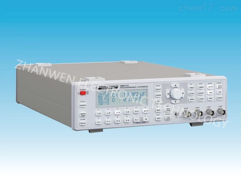 可编程LCR电表HM8118系列