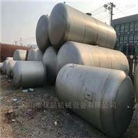 二手1-60立方防腐不锈钢储罐工厂处理
