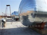 淄博罐體保溫工程 罐體做彩鋼板保溫報價