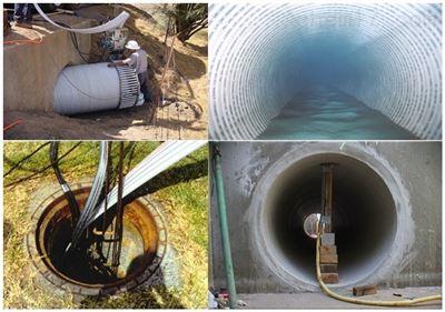 宿迁机械制管道螺旋缠绕式管道非开挖修复